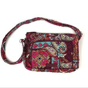 Vera Bradley Iconic RFID Little Hipster Bag Purse